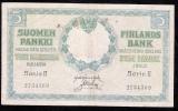 FINLAND P20  5   MARK  1909   AVF   1 P.h. ! - Finlande
