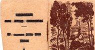 Tr�s petit calendrier de 1949, format ferm� 4 X 5,5, quelques annotations