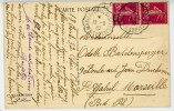 HAUT RHIN ET BAS RHIN CP 1932 STE MARIE AUX MINES A SELESTAT 2° . CONVOYEUR DE LIGNE SUPERBE - 1921-1960: Modern Tijdperk