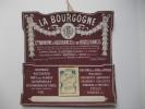 """Porte lettres. Calendrier 1928. Assurances """" LA BOURGOGNE """". Montceau les Mines. Sa�ne et Loire."""