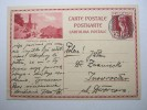 1930 , 20 Rappen Ganzsache Verschickt Nach Polen - Entiers Postaux