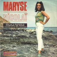 "Maryse Nicolaï  ""  Champigny  "" - Vinyl Records"
