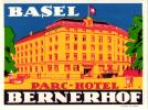 8 HOTEL LABELS SWITSERLAND SCHWEIZ SVIZZERA  KANDERSTEG SIERRE BERN MURREN SIMPLON LAUTERBRUNNEN
