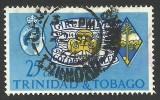 Trinidad & Tobago, 25 c. 1964, Scott # 114, used.