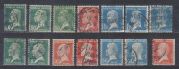 France 14 Stamps Luis Pasteur Various Values FU - Gebruikt