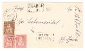 Heimat LU Ebersecken Um Kasten Auf Sitzende 15.11.1876 Nebikon R-Brief Nach Pfaffnau - 1862-1881 Helvetia Assise (dentelés)