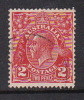 Australia 1926-30 Small Multiple Watermark perf 12,5x13,5 King George V, SG 99 Two Penny Red Used