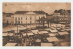 Charleroi Hôtel De Ville Et Marché. Ed. Nels, Bruxelles, Serie Charleroi, No. 28. Carte Postale Non Voyagé, Dos Séparé, - Charleroi