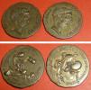 Lot De 3 Anciennes Monnaies Publicitaire NUTELLA 1995 Astérix Obélix César Idéfix Légionnaire, Goscinny Uderzo Pièce - Lots