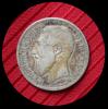 1 Franc Argent Leopold II 1886 - 1865-1909: Leopold II