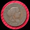 5 Centimos De Escudo Isabelle II 1867 - Espagne