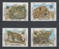 (S0514) AFGHANISTAN, 1985 (WWF. Leopard) Complete Set. Mi ## 1453-1456. MNH** - Afghanistan
