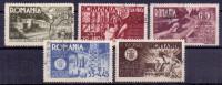Rumänien Mi. 903-907 Gest. - Ansehen!! - 1918-1948 Ferdinand, Charles II & Michael