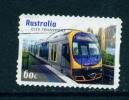 AUSTRALIA  -  2012  City Transport  60c  Self Adhesive  Used As Scan - 2010-... Elizabeth II