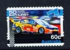 AUSTRALIA  -  2012  Car Racing At Bathurst  60c  Self Adhesive  Used As Scan - 2010-... Elizabeth II