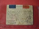 Permesso Di Passaggio 1945 Prisonnier De Guerre En FRANCE Base Militaire D'ORAN Autorisation De Passage - 1939-45