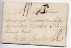 1771 - LETTRE De PARIS Avec P COURONNE Pour LONDRES - Postmark Collection (Covers)