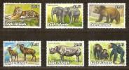 Cook Islands 1992 Yvertn° 1036-41 *** MNH Cote 15 Euro Faune - Cook