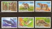 Cook Islands 1992 Yvertn° 1043-48 *** MNH Cote 15 Euro Faune - Cook