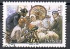 2003 - POLONIA / POLAND - CENTOCINQUANTESIMO DELLA NASCITA DEL PITTORE J. FATAT - USATO / USED - Usati