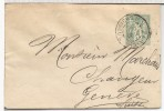 FRANCIA 1890 ENTERO POSTAL PARIS CHOISEUL A GENEVE - Enteros Postales