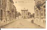 """Braine L´Alleud - Pl Cardinal Mercier- Commerces""""Ferrière,Corbillard,Moto Garée-NELS- GB.Nat, R.Stourme - Circulé: 1930. - Braine-l'Alleud"""