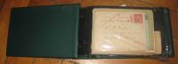 Mise à Prix 1 Euro 1 Classeur Avec Plus De 150 Entiers Postaux Anciens France Salon Du Prionnier.......neuf Et Obl (88) - Collections