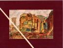 """4 Lithogravures Issues De """"La Guerre De 1914-16 Documentée"""". La Lorraine Dévastée : Raon L´Etape, Baccarat, Gerbéviller. - Books, Magazines  & Catalogs"""