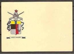 1955 Italia Repubblica STORIA POSTALE Cartolina 48° Reggimento Fanteria, Ferrara CAR Viagg. Tar. Ridotta Annullo Manuale - Militaria