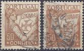 Portugal 1931 - Lusiadas  ( Mi 542 - YT 538 ) 2 Shades Of Color - Variétés Et Curiosités