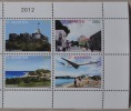 SINT MAARTEN ++ NEW NEW ++ 2012 COMPLETE SERIE VIEWS AIRPLANE MNH NEUF ** - Niederländische Antillen, Curaçao, Aruba