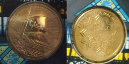 Malaysia 2015 Nordic Gold BU 1 Ringgit Coin National Mosque - Malaysia