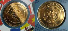 Malaysia ASEAN Coin 2015 Nordic Gold Brilliant Uncirculated (B.U) Commemorative Coin - Malaysia