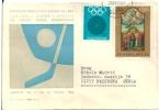 Letter FI000002 - Slovenija (Slovenia) Jesenice Ice Hockey World Championship 1966-03-03 - Hockey (Ijs)