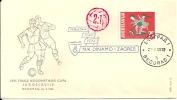 Letter FI000008 - Srbija (Serbia) Beograd Football: Finale Nogometnog Kupa Jugoslavije 1965-05-26 (Dinamo Zagreb) - Soccer