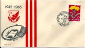 Letter FI000009 - Srbija (Serbia) Beograd Football: Crvena Zvezda 20 Godina 1965-06-19 - Famous Clubs