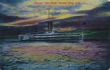 "NEW YORK CITY, New York, PU-1908; Steamer ""New York"", Hudson River - Hudson River"