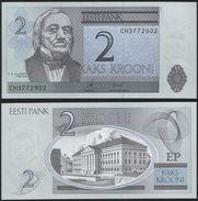 Estonia DEALER LOT ( 5 Pcs ) P 85 A - 2 Krooni 2006 - UNC - Estonia