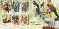 Australia 2010 Wildlife Caring Souvenir Sheet  MNH - Mint Stamps