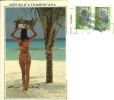 REPUBLICA DOMINICANA  Pin-up And Fruit  Nice Stamps - Pin-Ups