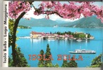 """Foldout Picture Booklet   Isola Bella  Lago Maggiore  Italy  12 Pictures 4.2"""" X 3""""   10.5 Cm X 7 Cm - Europe"""