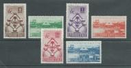 150023622  HAITI  YVERT   Nº  374/7  + AEREO  Nº  121/2  **/MNH - Tahití