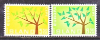ICELAND  348-9   **   EUROPA - 1944-... Republic