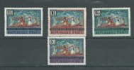 150023633  HAITI  YVERT   Nº  593/6  MH/MNH - Tahití