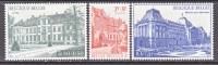 BELGIUM   B 876-8    **  *   PALACE - Unused Stamps
