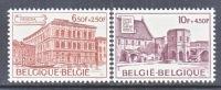 BELGIUM   B 923-4    **     PALACE   ABBEY - Belgium