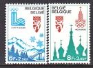 BELGIUM   B 970-1    **     OLYMPICS - Unused Stamps