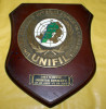 "ITALIA 2008 - CREST ARALDICO DELL'UNIFIL ""IMPARTIAL BEHAVIOUR"" NAVE SCIROCCO - Marine"