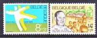 BELGIUM   B 974-5    **     NOBEL   PRIZE - Belgium