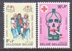 BELGIUM   B 976-7    **     RED  CROSS - Belgium